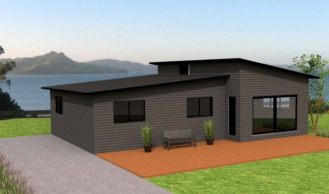Kiwi Bach Steel Frame House Plans From Nz Framing